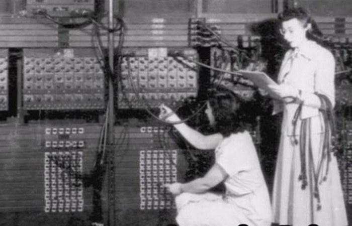 1940-х годах большинство программистов были женщинами.