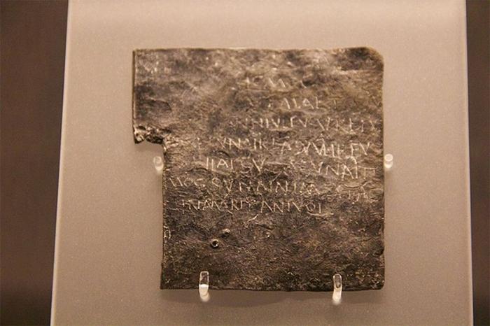 Римские таблички проклятий.