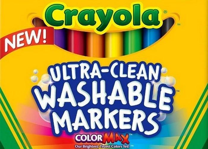 Crayola Ultraclean Broadline Classic.