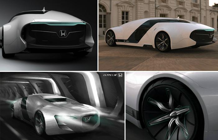 Седан будущего от Honda.