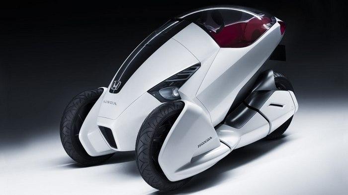 Концепт тривиллера 3R-C от Honda.