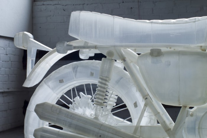 Пластиковая копия Honda CB500.