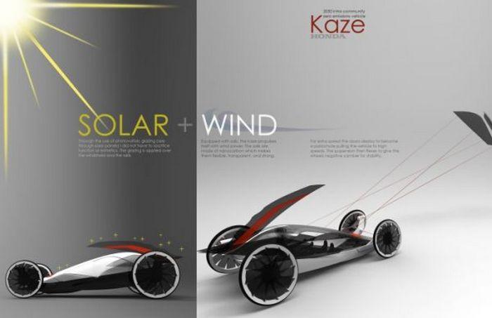 Kaze Honda: только солнце и ветер.