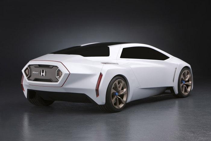 Honda Zeppelin - роскошный седан будущего.