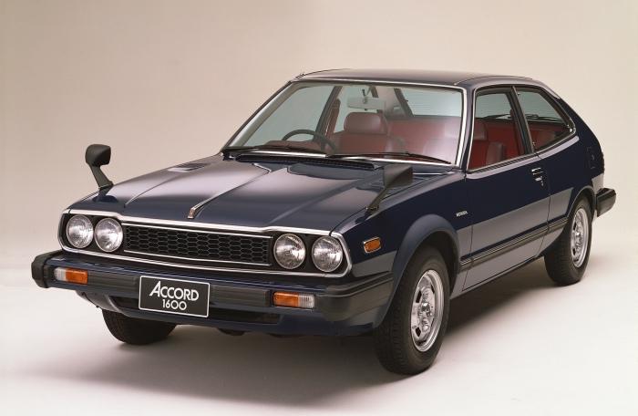 Honda Accord 1976 года выпуска.