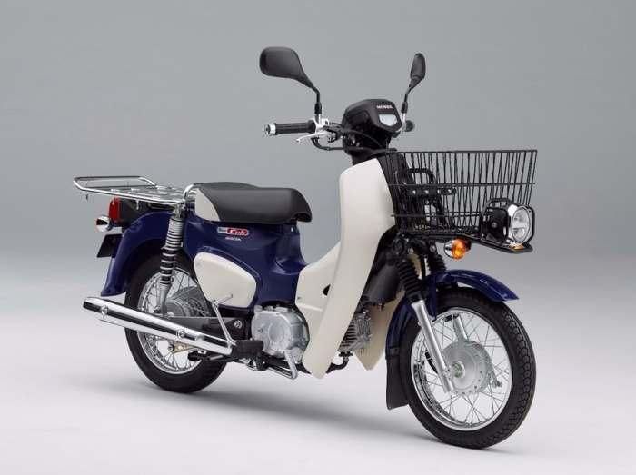 Одна из моделей Super Cub  будет оборудована корзиной.