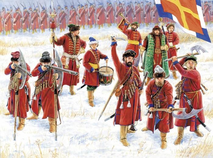 Петр не разогнал стрельцов, а просто переделал их в регулярную армию. ¦Фото: pinterest.ru.