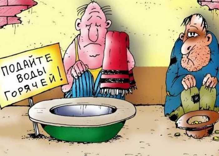 Горячая вода предотвращает преждевременное старение.