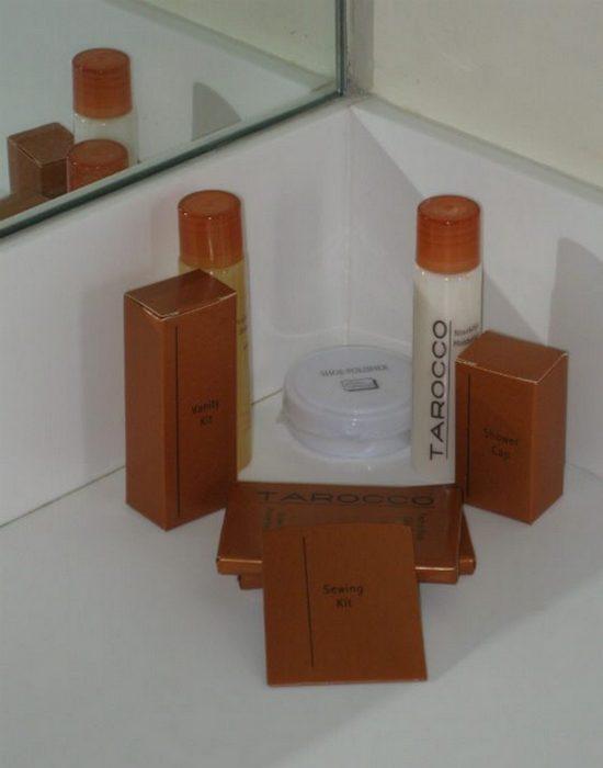 Готельні тонкощі: туалетні приналежності.