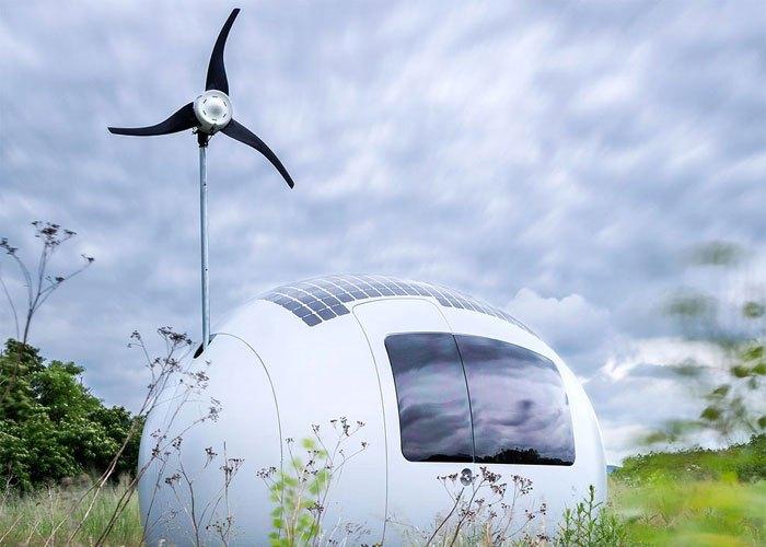 Жизнь без арендной платы: Ecocapsule.