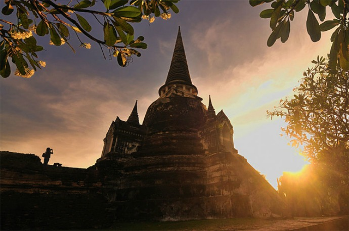 Ват Пхра си санпхет - храм в Тайланде.