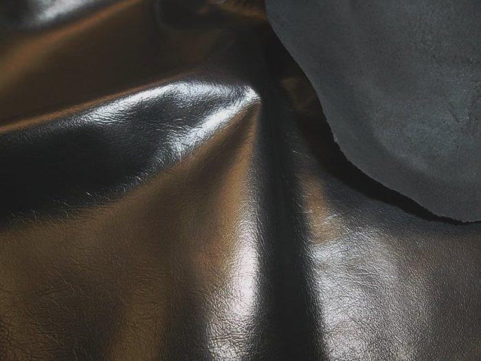 Такую кожу выделывают из шкур телят. |Фото: 2642020.ru.