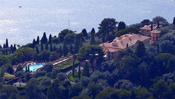 Частное владение «Villa Leopolda».