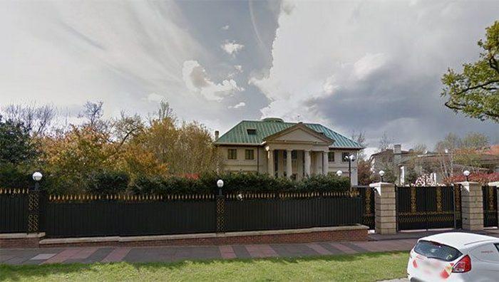Частное владение «Toprak Mansion».