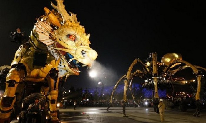 Битва роботов в Пекине.
