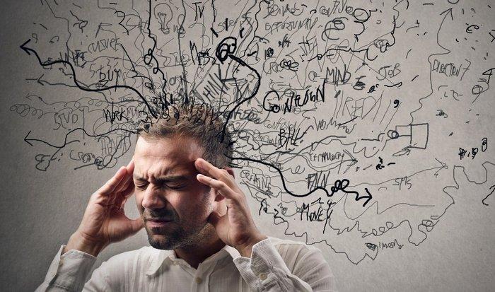 Мозг человека: 70 000 мыслей в день.