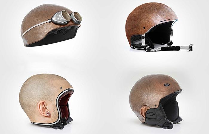 Коллекция шлемов Джона Мулюра.
