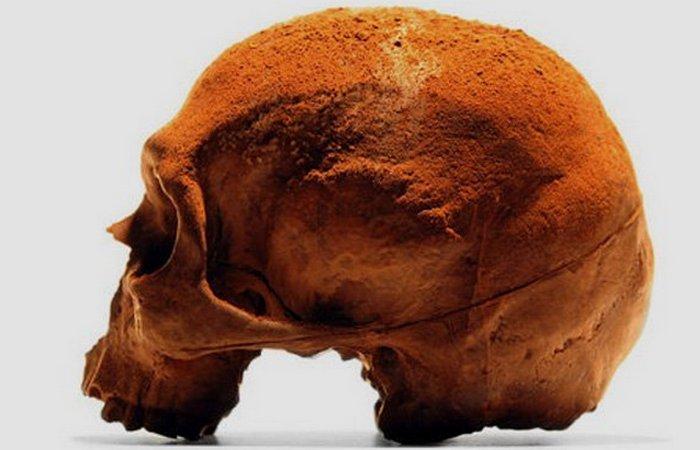 Человеческий череп. Конфета.