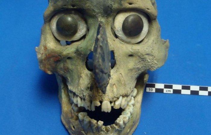 Человеческий череп. Маски.