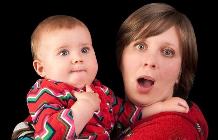 Здоровый малыш - счастливая мама.
