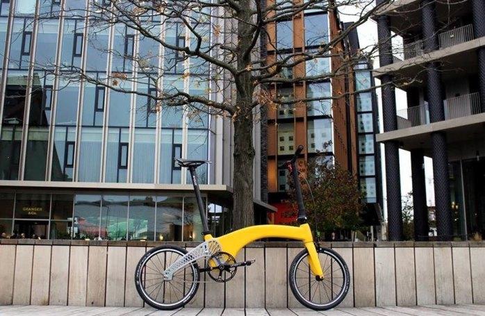 Суперлегкий городской велосипед.