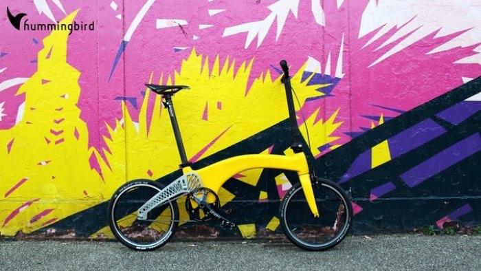 Велосипед из углеродного волокна.