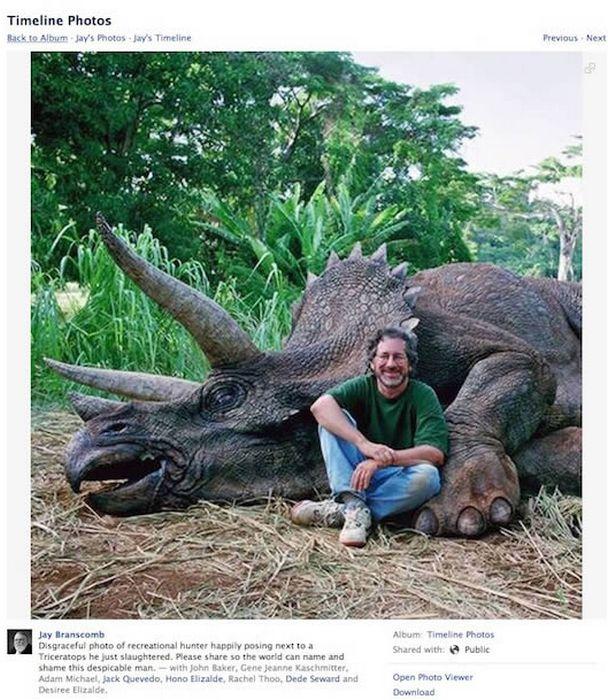 Стивен Спилберг - убийца динозавров.
