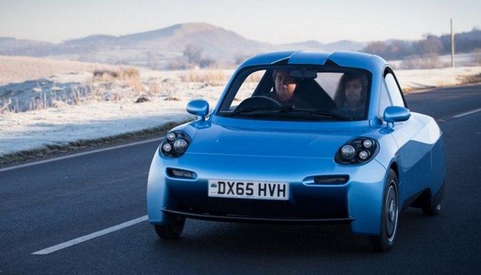 Первый городской водородный автомобиль Rasa.