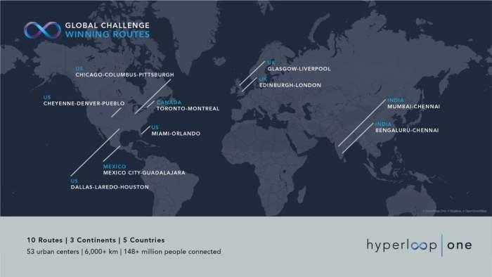 Десять маршрутов, пять стран.