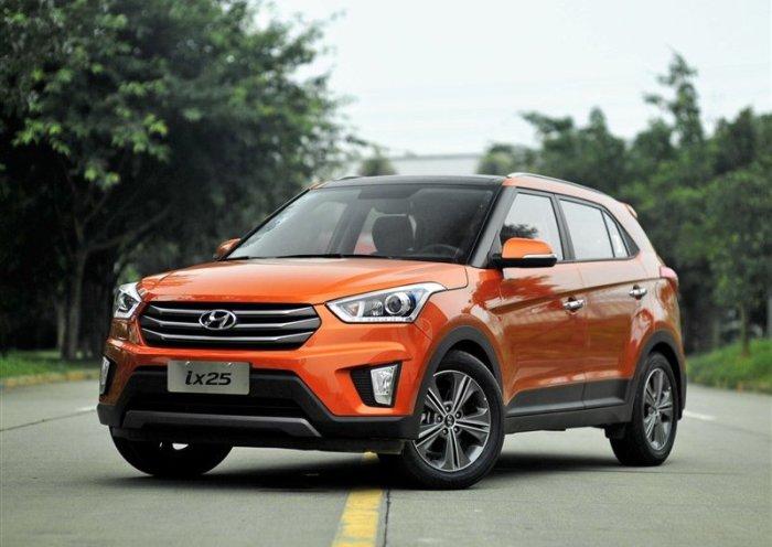 Hyundai Creta - новый взгляд на известное авто.