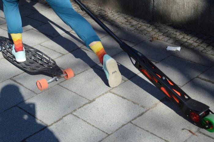 Gridboard - композитная доска с веслом.