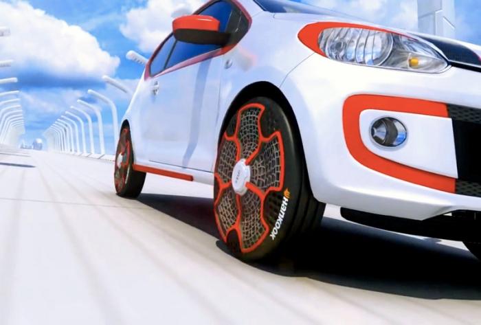 Самые невероятные автомобильные шины.