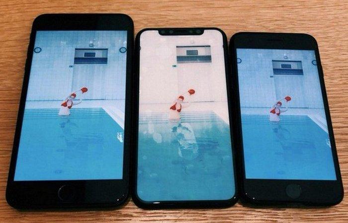 IPhone 8 - это большой экран.
