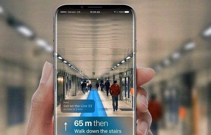 IPhone 8 - это технология Apple AR.