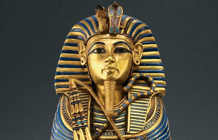 Маска Тутанхамона.