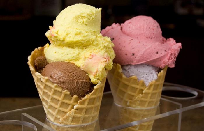Мороженое «Джелато».