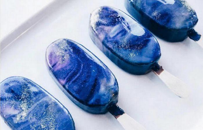 Мороженое «Galaxy».