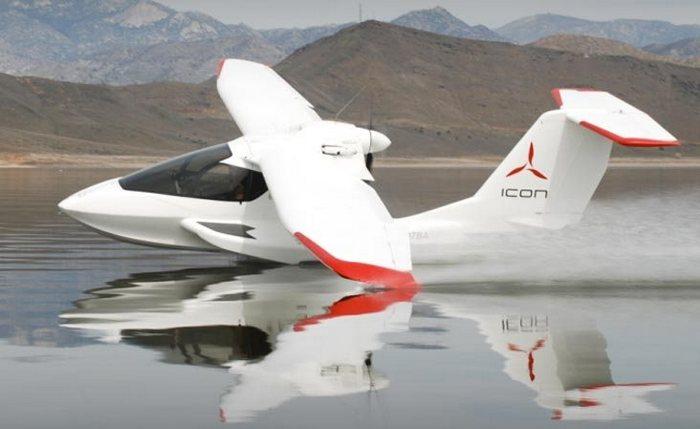 Cамолет-амфибия ICON A5 - новый уровень безопасности полётов.