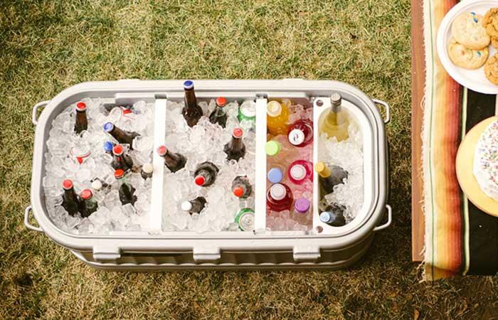 Много льда для вкусных напитков.