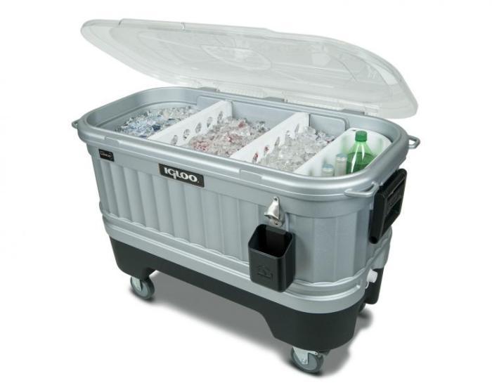 Ящик со льдом для комфортного пикника и весёлой вечеринки.