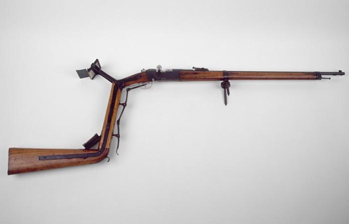 Винтовка для стрельбы из окопа.