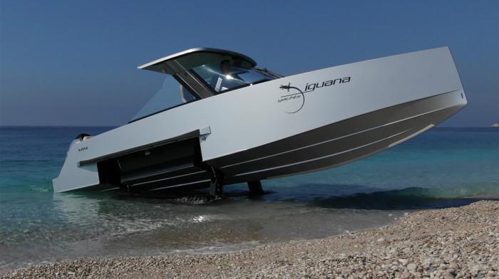 Есть еще и вот такая модель. |Фото: powerandmotoryacht.com.