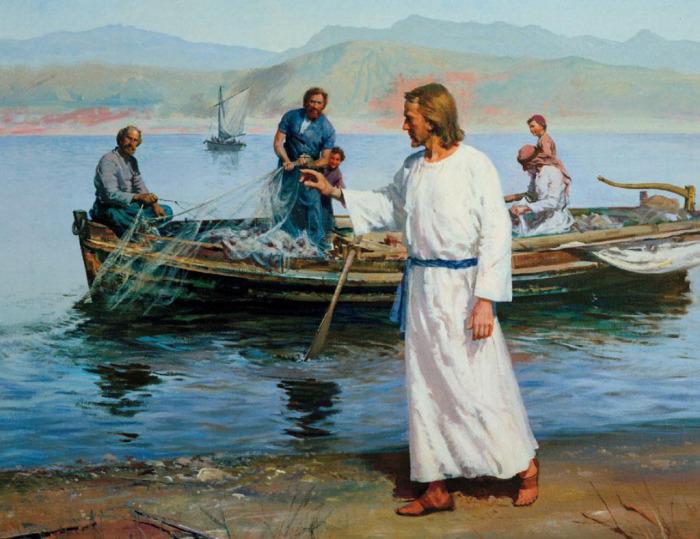 Иисус напрямую связан с рыбалкой.  Фото: livejournal.com.