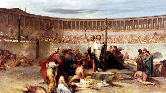 В Риме были страшные гонения на христиан.  Фото: onhistory.ru.