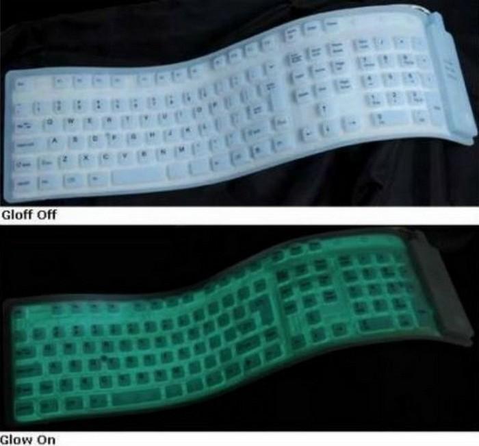 Практически неразрушимая клавиатура.