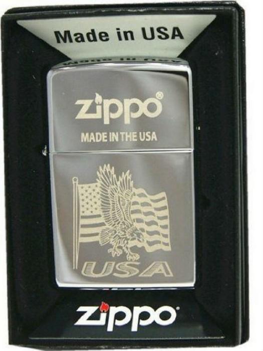 Сверхпрочная зажигалка Zippo.