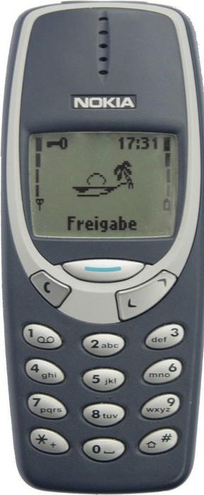 Nokia 3210 / 3310.