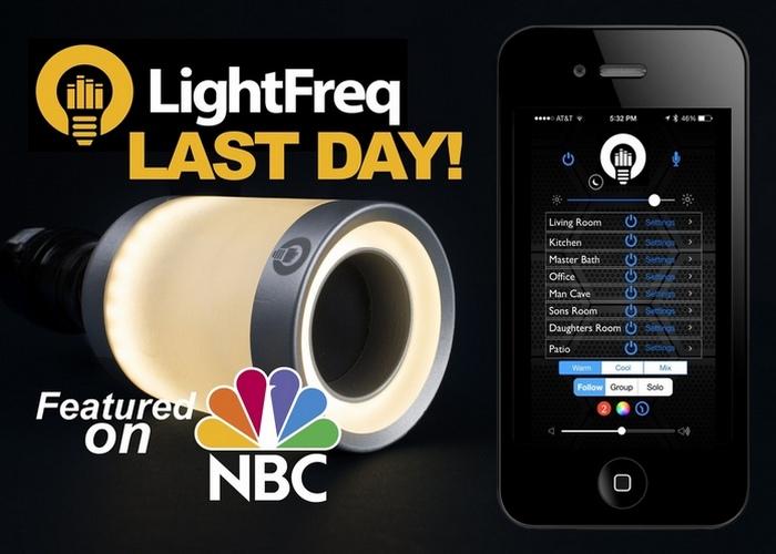 Невероятный гаджет: смарт-лампа LIGHTFREQ.