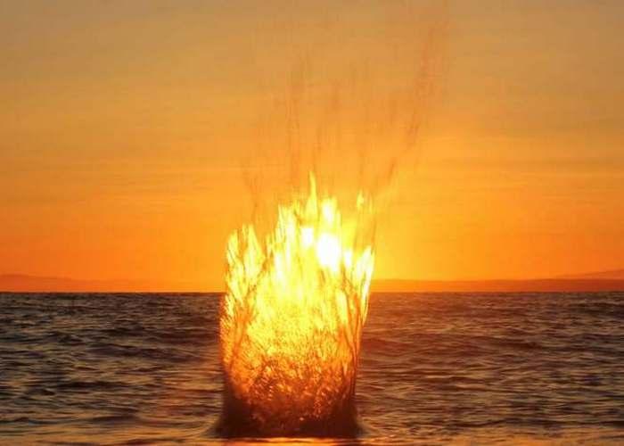 Необъяснимо, но факт: «Огненные шары Нага» в Таиланде.