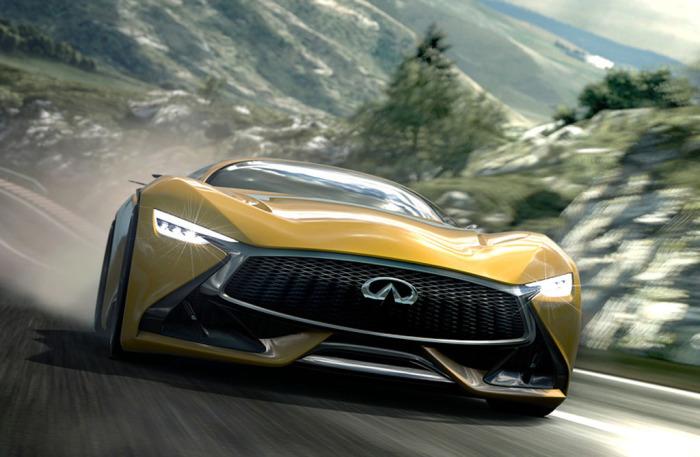 Концепт суперкара для игры Gran Turismo.